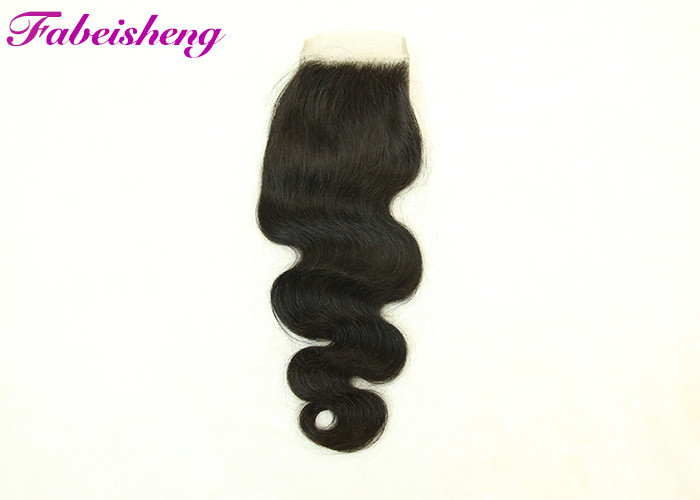Virgin India Hair 4x4 Lace Closure Body Wave