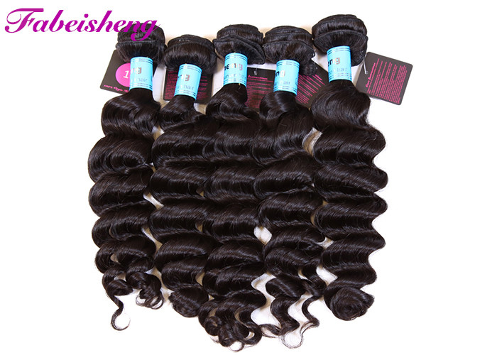 Double Drawn 10A Virgin Unprocessed Loose Wave Hair